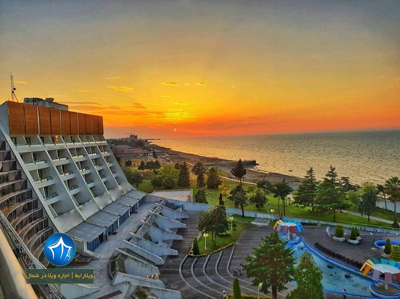 هتل هایت هتل پارسیان آزادی خزر هتل چالوس اقامت در هتل چالوس رزرو هتل چالوس (۱)