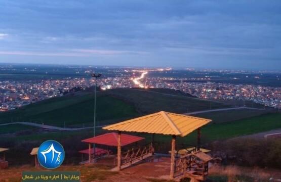 پارک زیتون تپه آزادشهر
