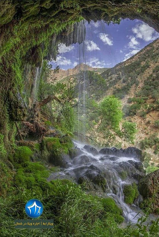 پلنگدره آبشار پلنگ دره تور ابشار پلنگدره شیرگاه جنگل پلنگ دره کجاست ) (۴)