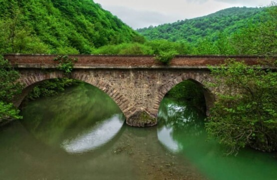 پل سیاهرود رودبار کجاست پل سیاه رود رودبار گیلان پل های گیلان جاذبه گیلان