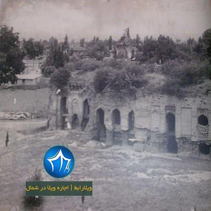 چشمه عمارت بهشهر چشمه عمارت کجاست چشمه عمارت بهشهر در مازندران بنای تاریخی عکس قدیمی چشمه عمارت بهشهر (۱)