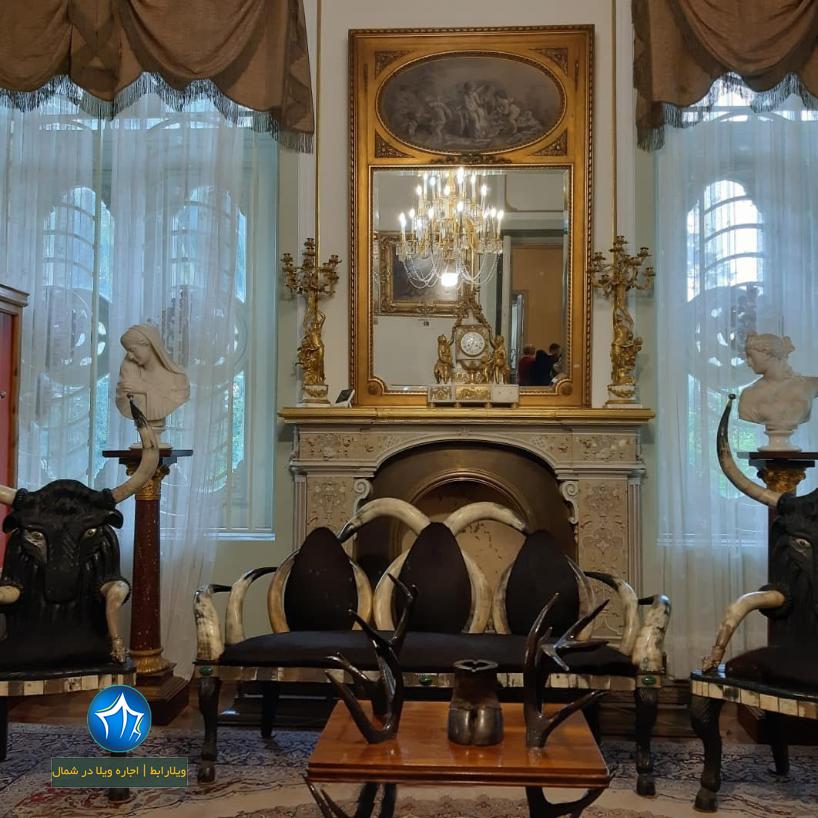کاخ سلطنتی رامسر کاخ رامسر اجاره ویلا رامسر جاذبه گردشگری رامسر ( اجاره ویلا در رامسر ) (۳)