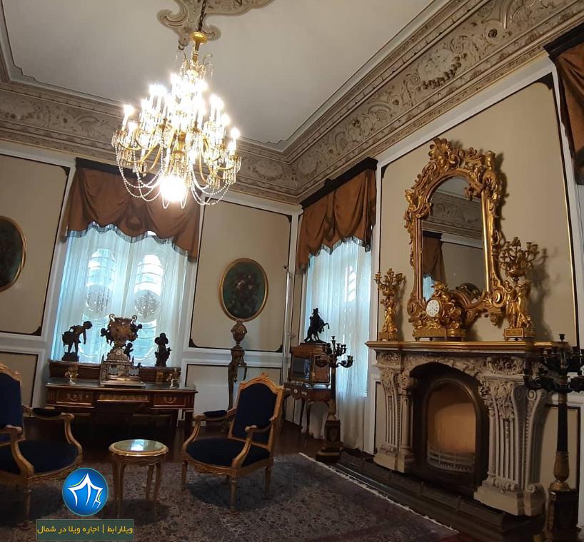 کاخ سلطنتی رامسر کاخ رامسر اجاره ویلا رامسر جاذبه گردشگری رامسر ( اجاره ویلا در رامسر ) (۴)