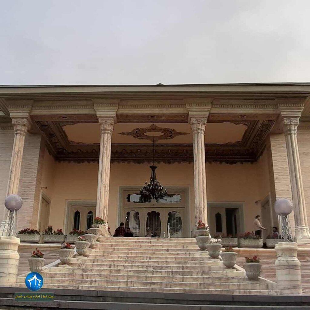 کاخ سلطنتی رامسر کاخ رامسر اجاره ویلا رامسر جاذبه گردشگری رامسر (۱)