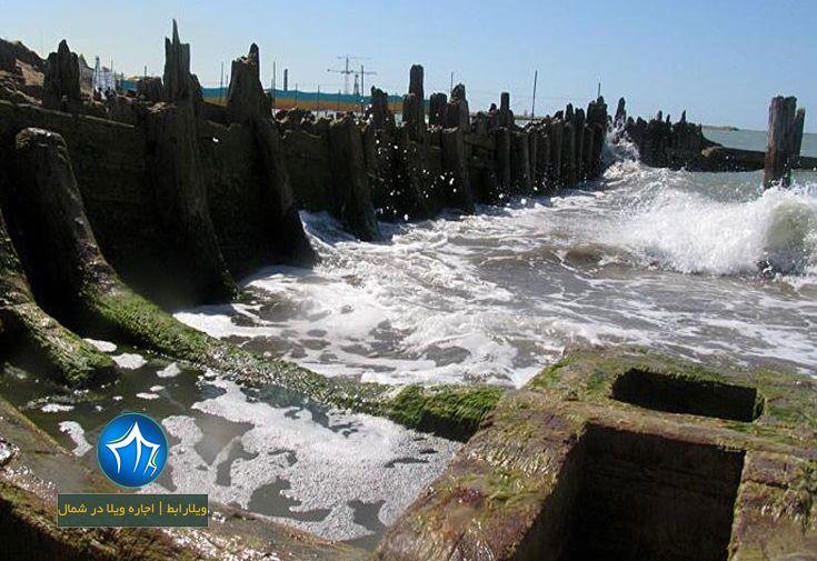 کشتی صفوی بهشهر کشتی صفوی کجاست کشتی بهشهر ویلارابط جاذبه گردشگری بهشهر ساحل بهشهر (۵)