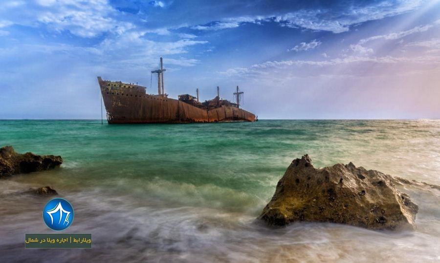 کشتی یونانی کیش-کشتی یونانی کجاست-کشتی یونانی کیش چیست- کشتی یونانی در کیش- کشتی یونانی جزیره کیش (۱)