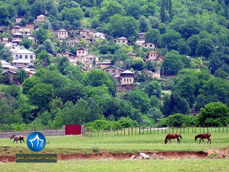 کندلوس کجاست روستای کندلوس نوشهر کندلوس جاده چالوس (۴)