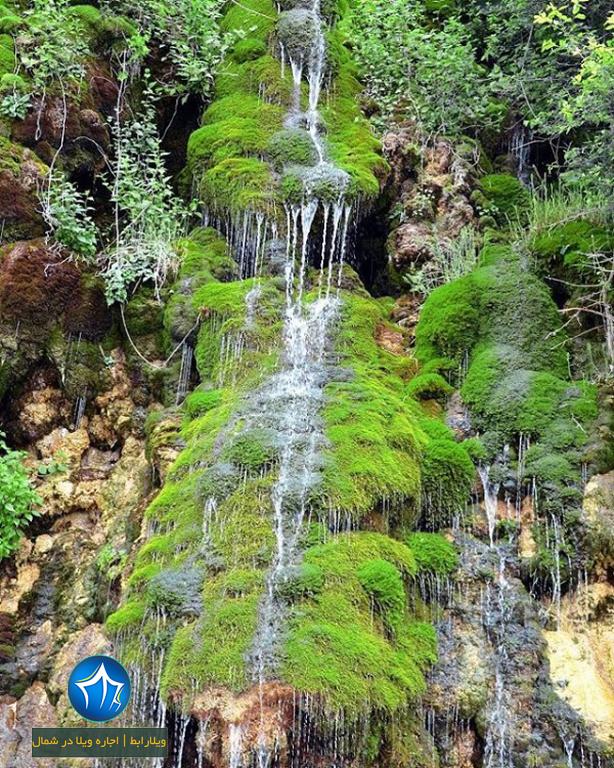گلندرود آبشار رویان آبشار گلندورد