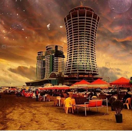 ساحل برج های عظیم زاده