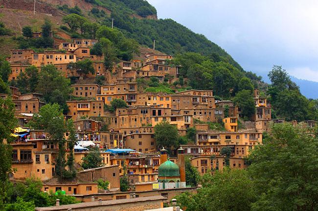 عکس از دهکده تاریخی ماسوله