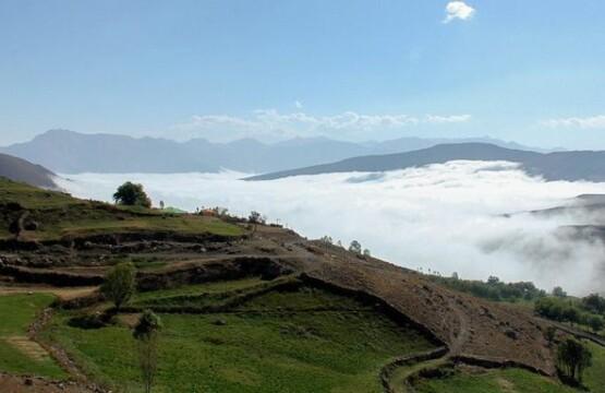 روستای ناندل آمل تصویر روستای ناندل